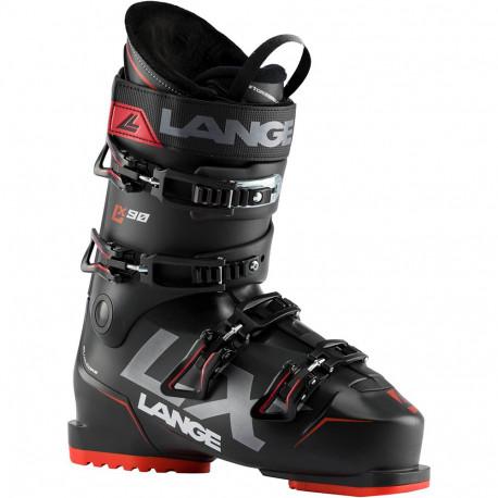 SKI BOOTS LX 90 BLACK/GREEN-RED