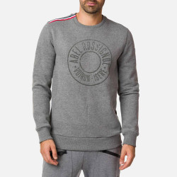 SWEAT BORROME SWEAT HEATHER GREY