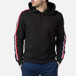 SWEAT FLAG SWEAT HOOD BLACK