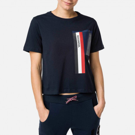 T-SHIRT W SUPERSYMETRIE T-SHIRT NAVY