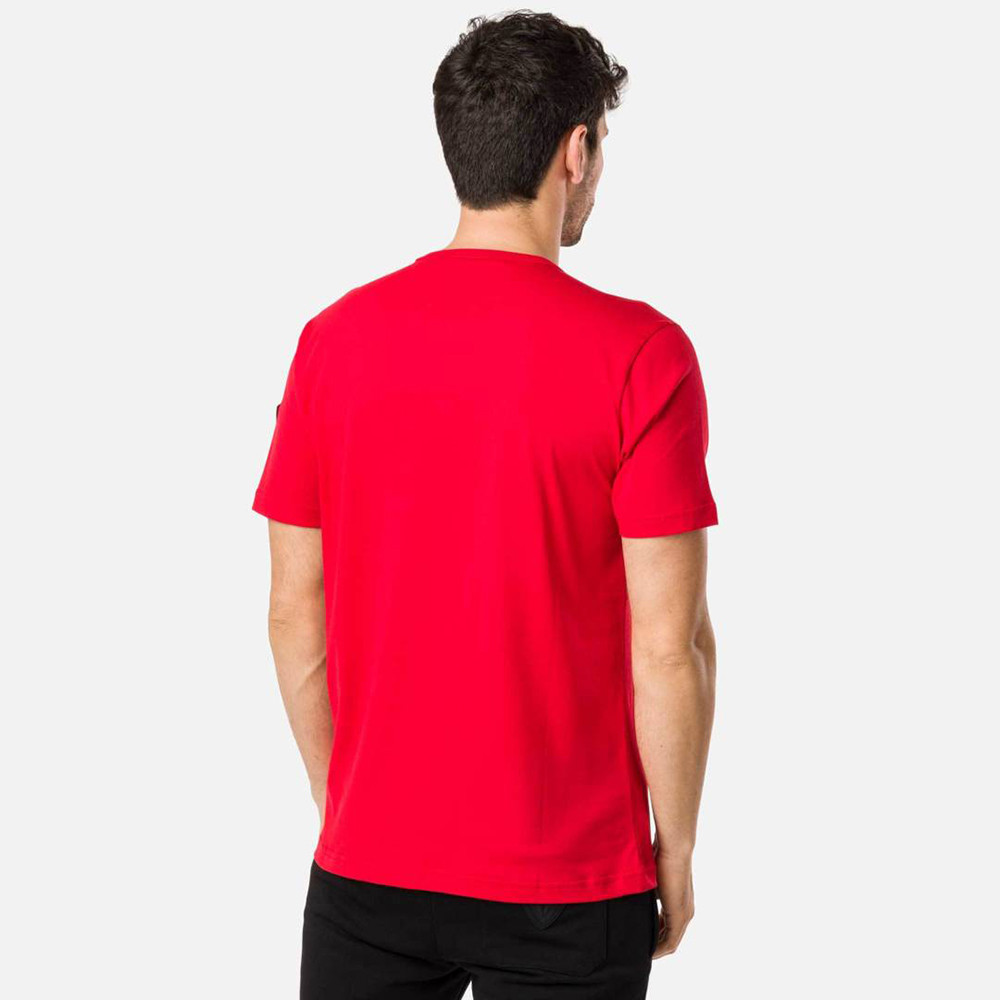 T-SHIRT PATCH TEE RED