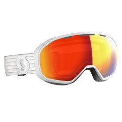 MASQUE DE SKI FIX LS WHITE/LIGHT SENSITIVE RED CHROME
