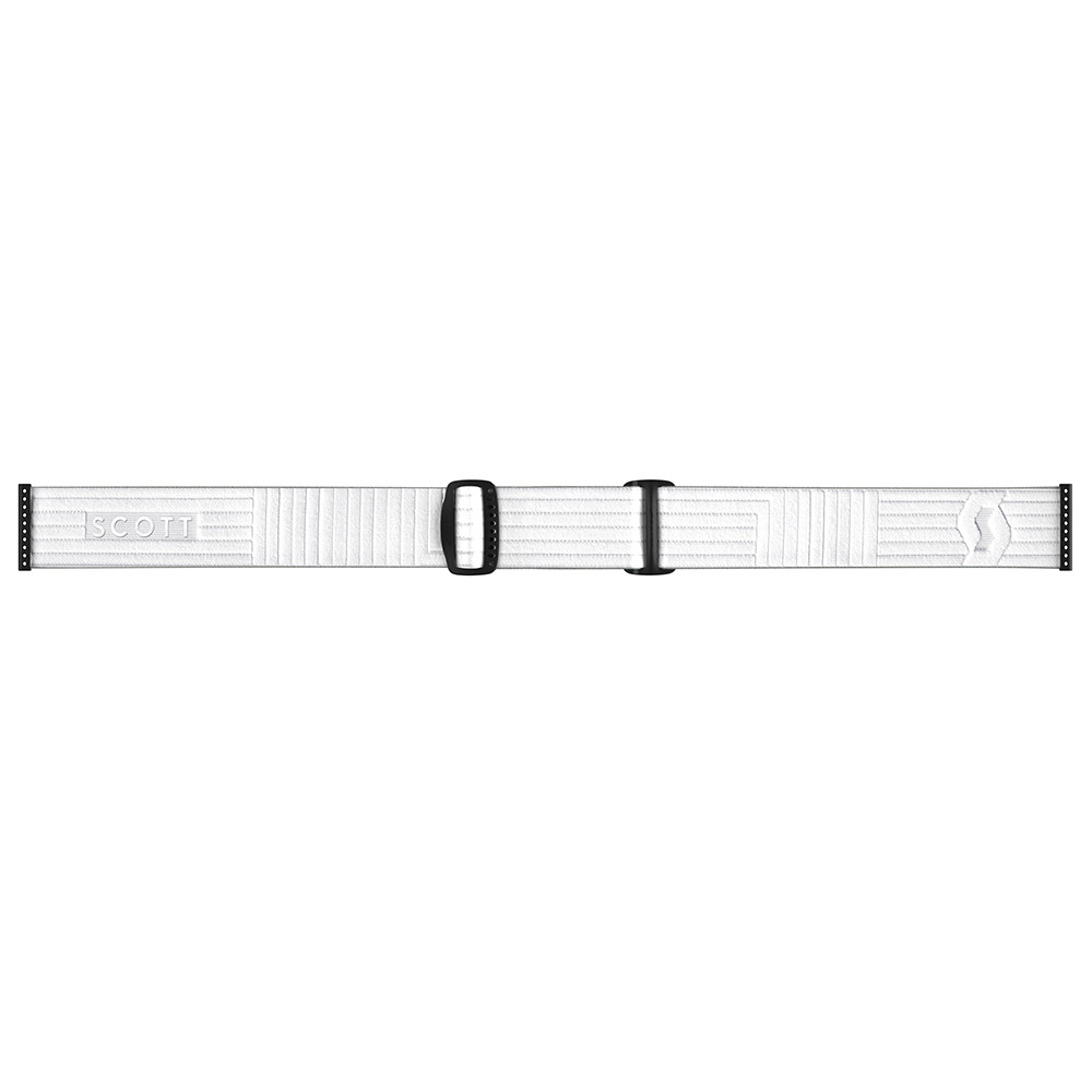 GOGGLE FIX LS WHITE/LIGHT SENSITIVE RED CHROME