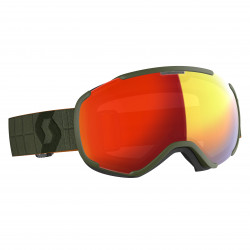 MASQUE DE SKI FAZE II KAKI GREEN ENHANCER RED CHROME