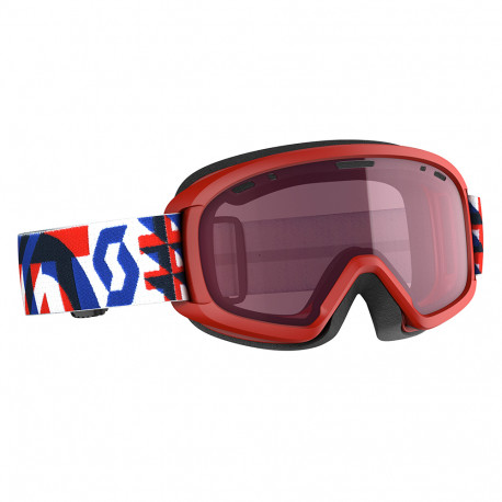 MASQUE DE SKI JR WITTY RED/DARK BLUE ENHANCER