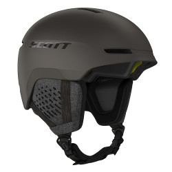 CASQUE DE SKI TRACK PLUS PEBBLE BROWN