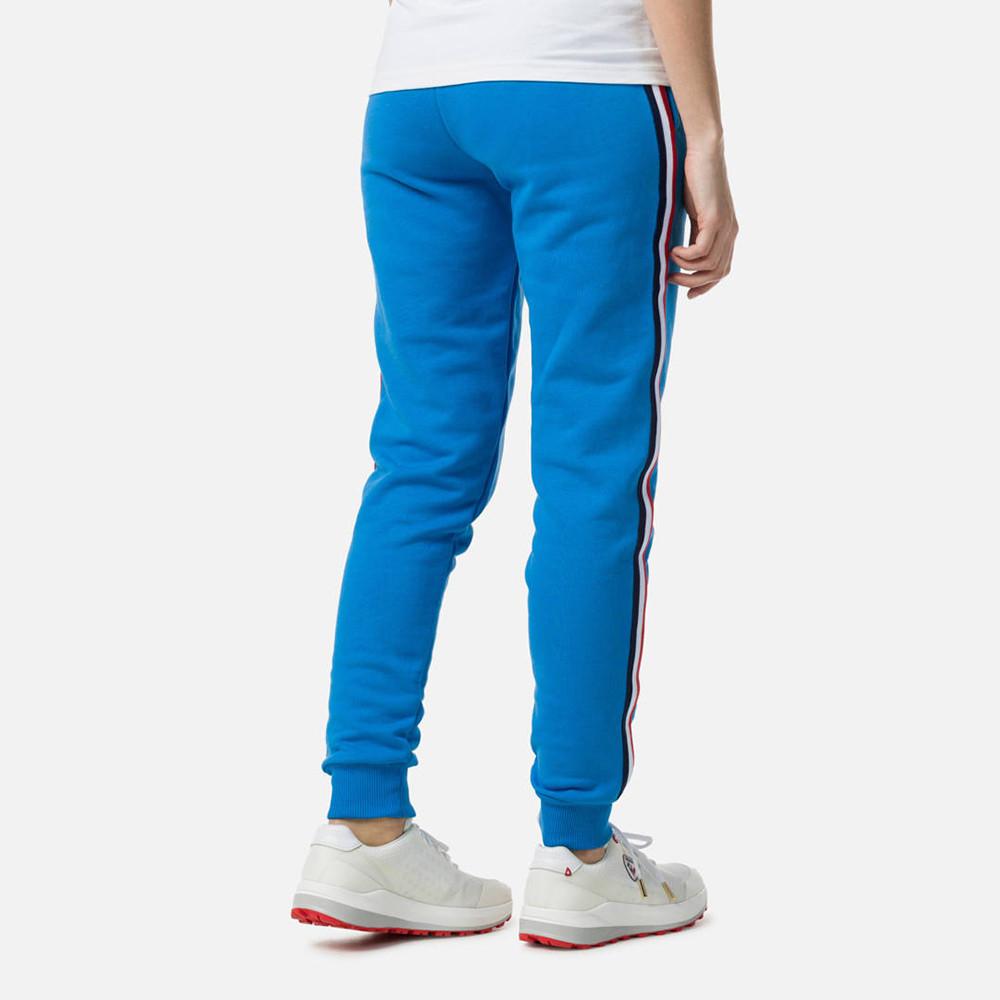 PANTALON W STRIPES SWEAT PANT ROYAL BLUE