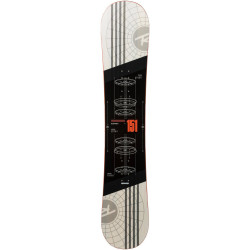 SNOWBOARD DISTRICT + FIXATIONS BATTLE BLACK/WHITE M/L (40.5-48)