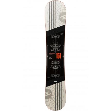 SNOWBOARD DISTRICT + BINDINGS BATTLE BLACK/WHITE XL (45-48)