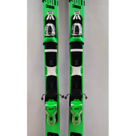 SKI PURSUIT 300 + FIXATIONS XPRESS 10 B83 BLACK GREEN