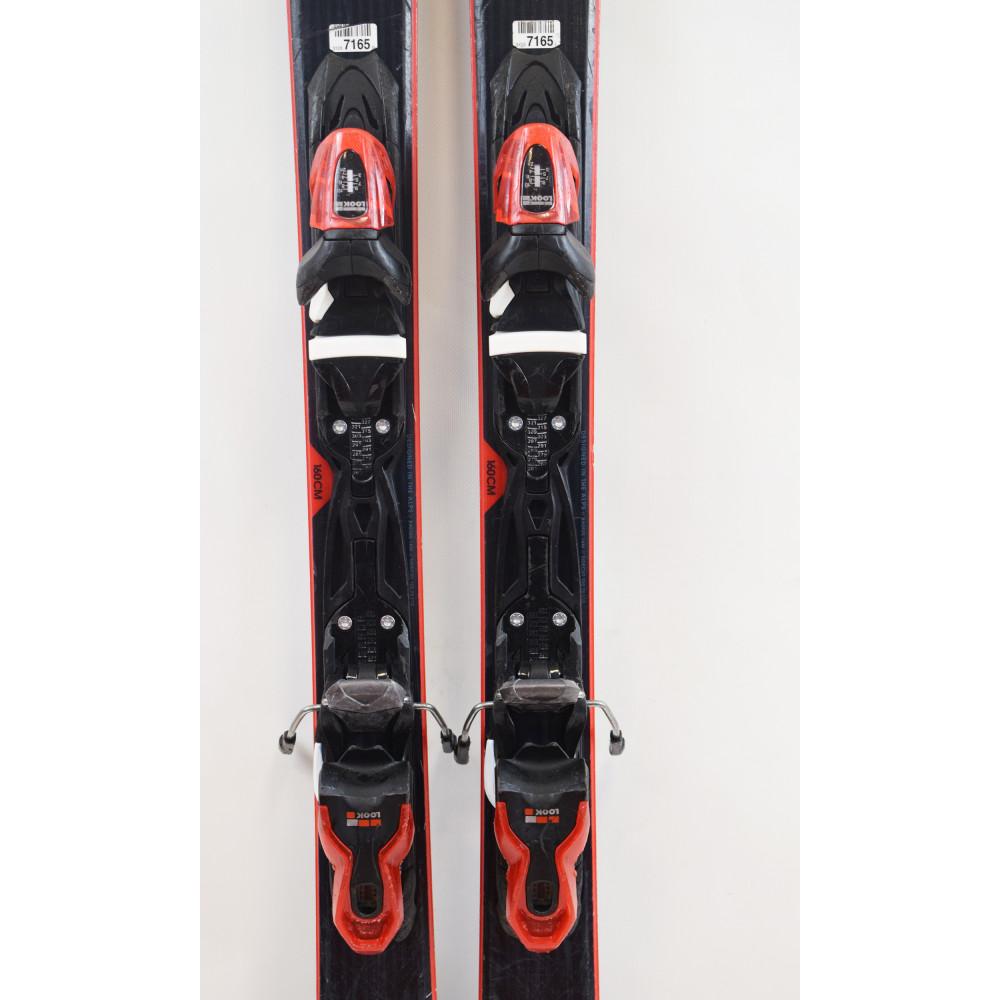 SKI EXPERIENCE 75 CA + BINDINGS LOOK XPRESS 10 B83 BLACK RED