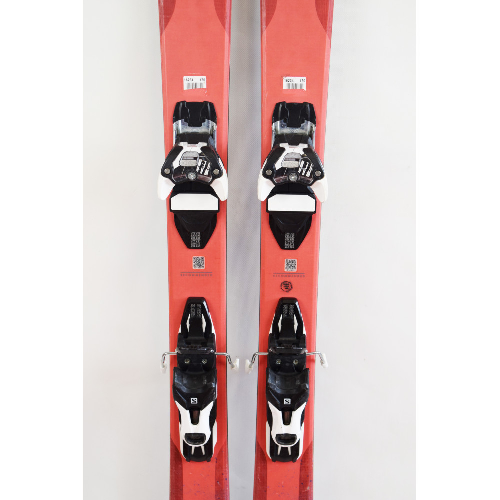 SKI QST MYRIAD 85 + FIXATIONS SALOMON WARDEN 11 OCCASION