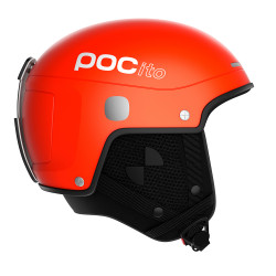 CASQUE DE SKI POCITO SKULL LIGHT FLUORESCENT ORANGE
