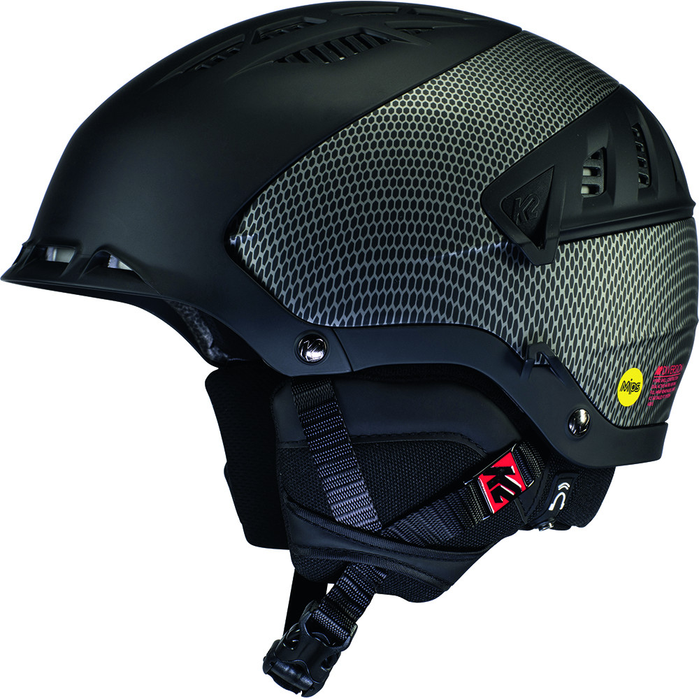 CASQUE DE SKI DIVERSION MIPS GUNMETAL BLACK