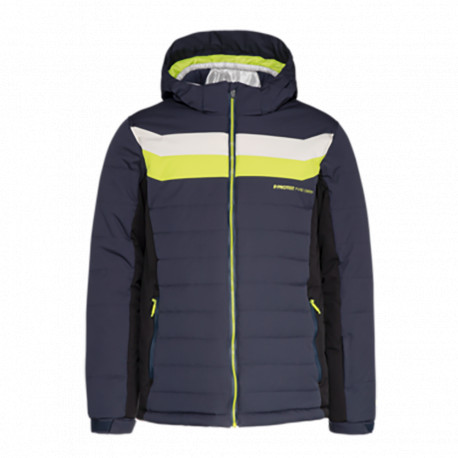 VESTE DE SKI OPTIC LIME ROCKS