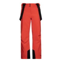 PANTALON DE SKI BORK JR ORANGE FIRE