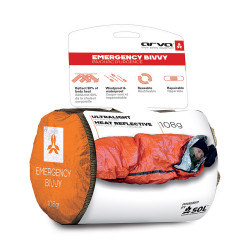 SAC DE COUCHAGE BIVVY EMERGENCY
