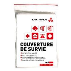 COUVERTURE DE SURVIE ARGENT 190G