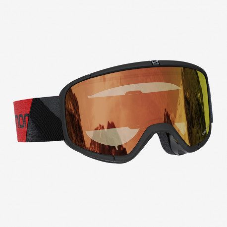 MASQUE DE SKI FOUR SEVEN BLACK PHOTO RED S1-S3