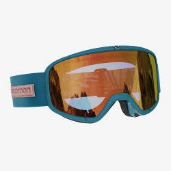GOGGLE FOUR SEVEN DEEP TEAL SIGMA POPPY RED