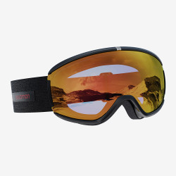MASQUE DE SKI IVY BLACK SIGMA PHOTO POPPY RED