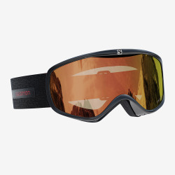 MASQUE DE SKI SENSE BLACK PHOTO RED S1-S3