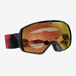 MASQUE DE SKI XT ONE BLACK SIGMA PHOTO POPPY RED
