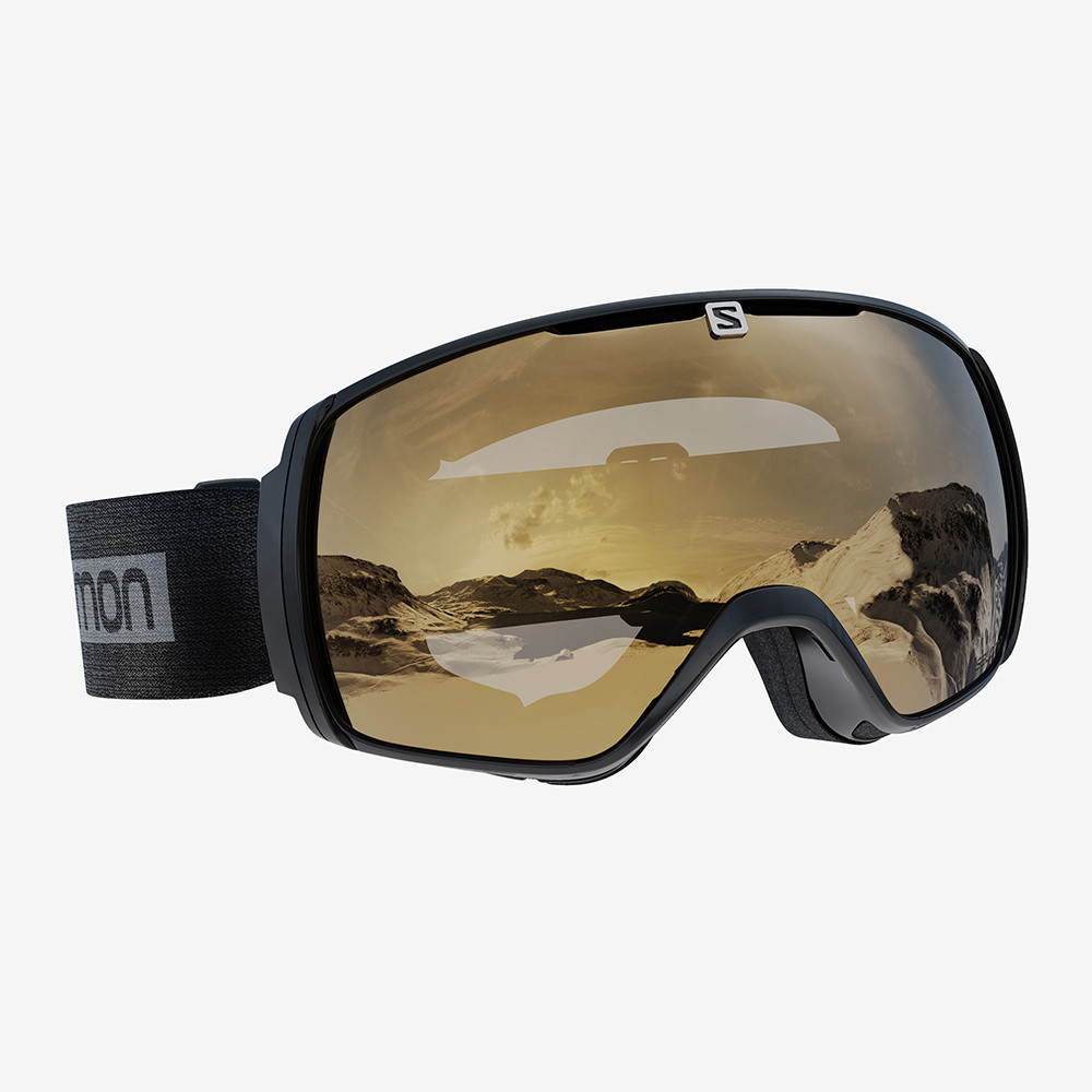 GOGGLE XT ONE BLACK GOLD S2