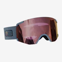 GOGGLE S/VIEW GREY SIGMA SILVER PINK