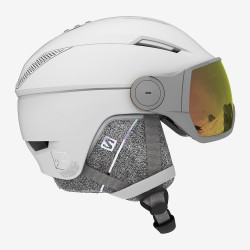 CASQUE DE SKI ICON² VISOR PHOTO WHITE