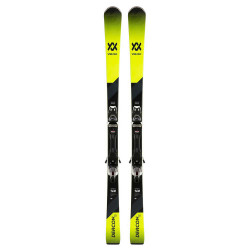 SKI DEACON 75 + VMOTION 10 GW BLACK/WHITE
