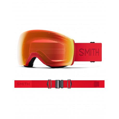 MASQUE DE SKI SKYLINE XL LAVA CHROMAPOP PHOTOCHROMIC RED MIRROR