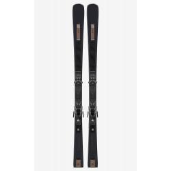 SKI S/MAX W8 + BINDINGS M11 GW BLACK/GREY L80
