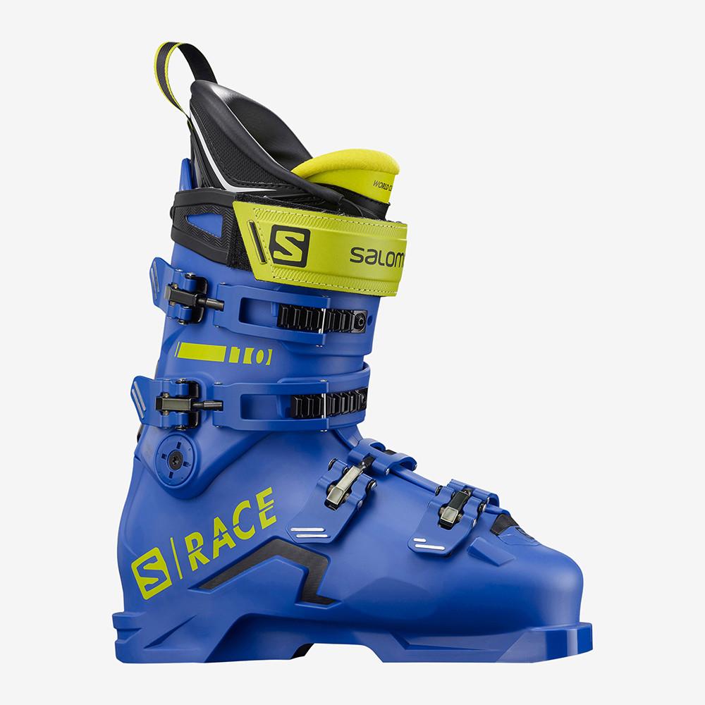 CHAUSSURES DE SKI S/RACE 110 RACE BLUE/ACID GREEN