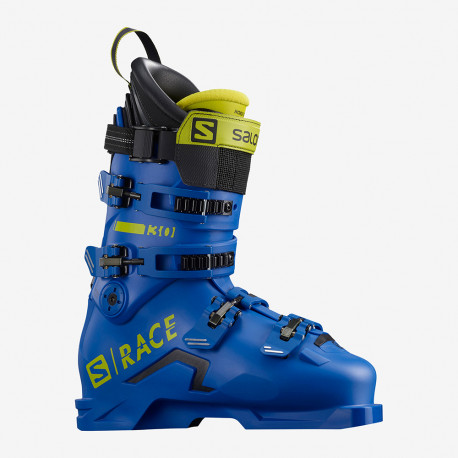 CHAUSSURE DE SKI S/RACE 130 RACE BLUE/ACID GREEN