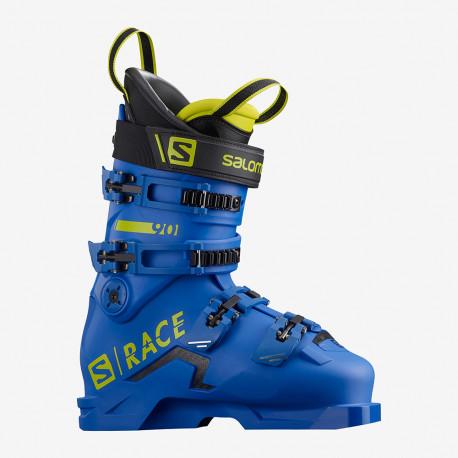 CHAUSSURES DE SKI S/RACE 90 RACE BLUE/ACID GREEN