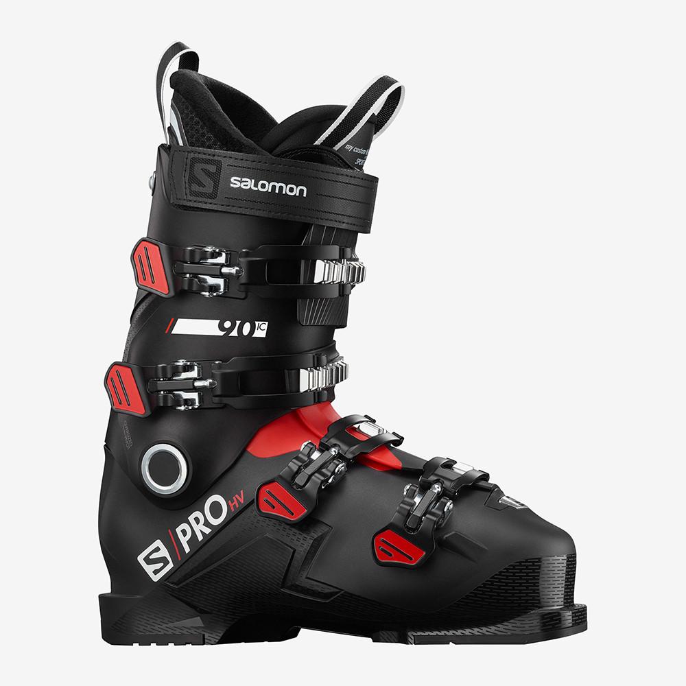 CHAUSSURES DE SKI S/PRO HV 90 IC BLACK/RED/WHITE