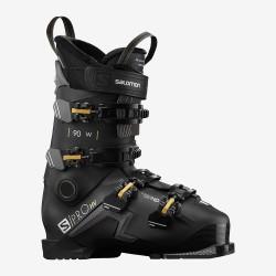 SKI BOOTS S/PRO HV 90 W BLACK/BELLUGA/GOLDEN GLAW