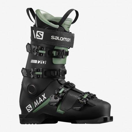 CHAUSSURE DE SKI S/MAX 120 BLACK/OIL GREEN/SILVER