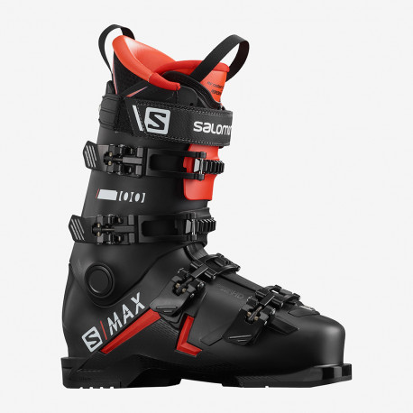 CHAUSSURE DE SKI S/MAX 100 BLACK/RED/WHITE
