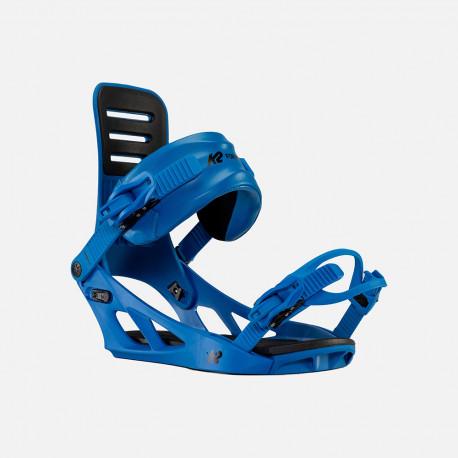 FIXATIONS DE SNOWBOARD FORMULA BLUE
