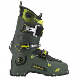 CHAUSSURE DE SKI RANDO FREEGUIDE CARBON MILLITARY GREEN/YELLOW