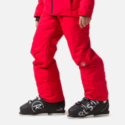 PANTALON DE SKI BOY SKI PANT SPORT RED