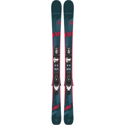 SKI EXPERIENCE PRO + FIXATIONS KID 4 GW B76 BLACK
