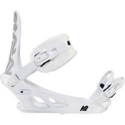 FIXATION DE SNOWBOARD FORMULA WHITE