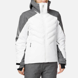 VESTE DE SKI W COURBE HEATHER JKT HEATHER GREY