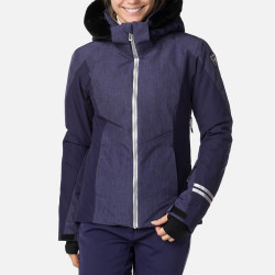 VESTE DE SKI W CONTROLE HEATHER JKT HEATHER NOCTURNE