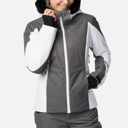 VESTE DE SKI W CONTROLE HEATHER JKT HEATHER GREY