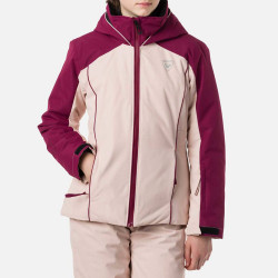 VESTE DE SKI GIRL FONCTION JKT POWDER PINK