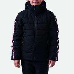 VESTE DE SKI BOY HIVER POLYDOWN JKT BLACK